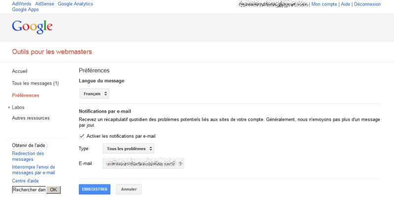 google-webmaster-tools-septembre2012-message