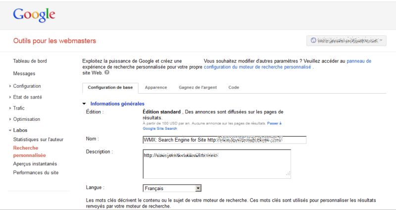 google-webmaster-tools-septembre2012-recherche-personnalise