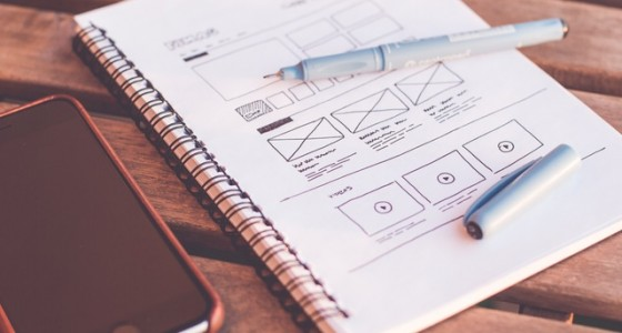 wireframe - conception - site web