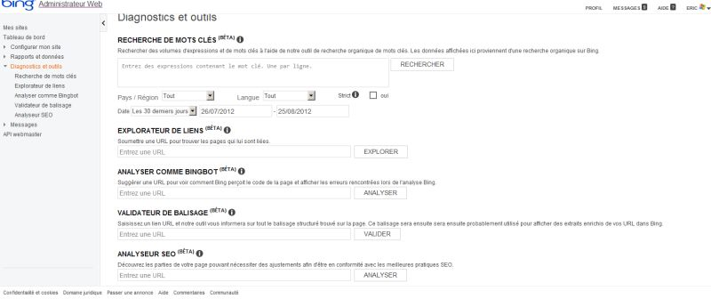 bing-webmaster-tools-diagnostic-outils