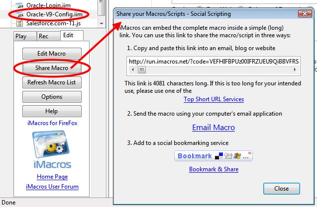 Imacros Firefox
