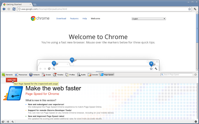 Pagespeed Chrome