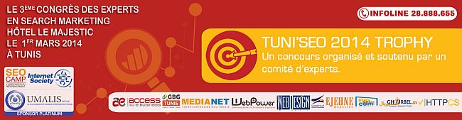 Tunis SEO 2014 le salon du search Marketing