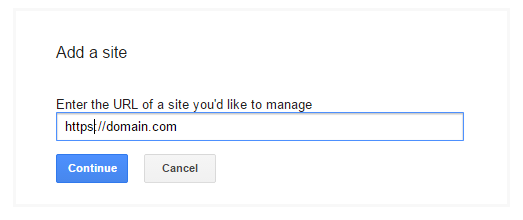 how to activate https in google search console