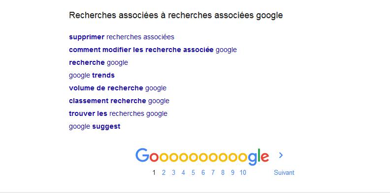 « Recherches associées » : comment Google fait pour les générer ?